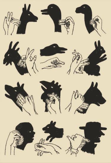 Фигуры для театра теней своими руками 809